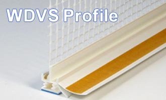 WDVS Profile, Anputzleisten